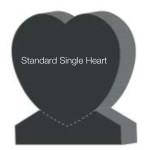 Standard Single Heart