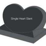Single Heart Slant