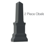 Two Piece Obelisk