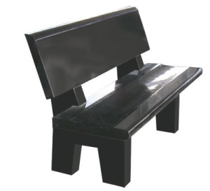 TSS 1254 Garden (or Park) Bench Unit